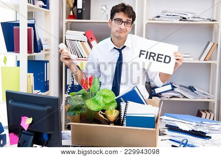 Employee being fired from work made redundant