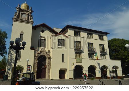 Pueblo De La Reyna De Los Angeles Founded By Father Junipero Serra In Downtown Los Angeles. July 7,