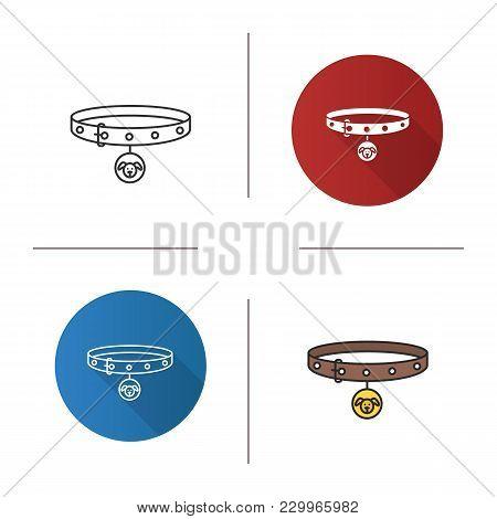 Dog's Neck Collar Icon