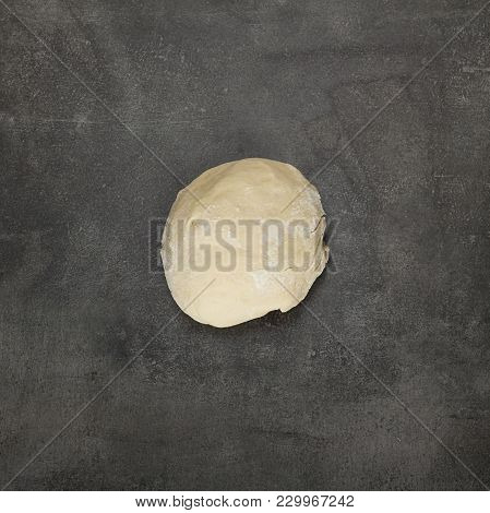 Clod Of Dough, Ready To Shape Products, On Grey Surface