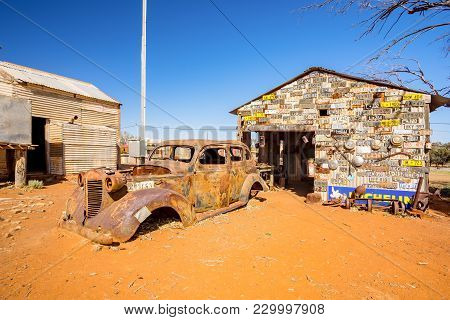Abandoned Home In The Ghost Town Of Gwalia In The Western Australian Goldfields Near Kalgoorlie. Wes