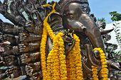 Animals art asia belief culture elephant eyes God grunge Hindu poster