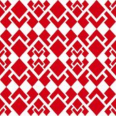 Abstract background of beautiful seamless geometric patterns poster