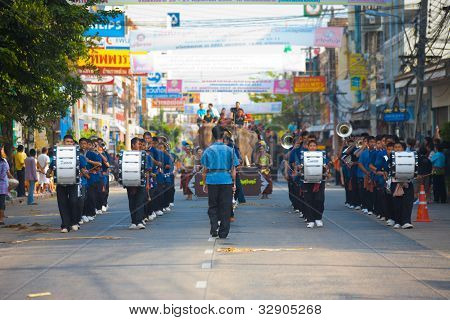 Surin Elephant Roundup Marching Band
