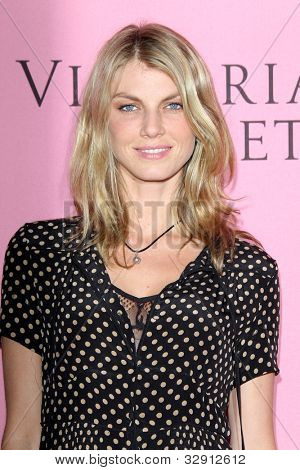 LOS ANGELES - MAY 10:  Angela Lindvall arrives at the Victoria's Secret What Is Sexy? Party at Mr. C Beverly Hills  on May 10, 2012 in Beverly Hills, CA