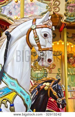 Horses On A Merry Go Round
