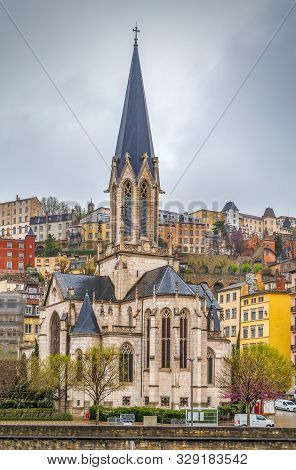 Eglise Saint-georges (church Of St. George) Is A Roman Catholic Church Located In Lyon, France