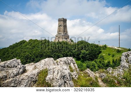 Shipka Monument On Stoletov Peak - Liberation Of Bulgaria During The Battles Of Shipka Pass In The R