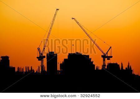 Silhouette Of The City