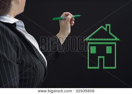 Housing Green Icon
