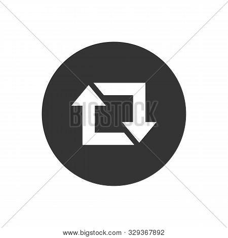 Repost Icon, Repost Symbol, Repost Sign. Vector