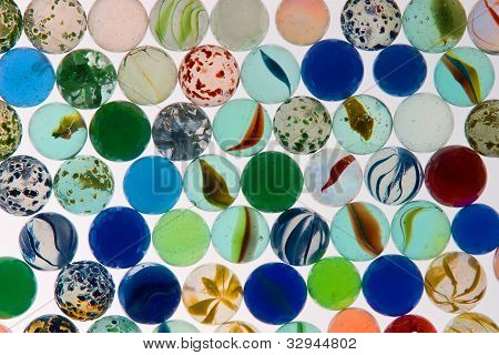 Rows of Marbles