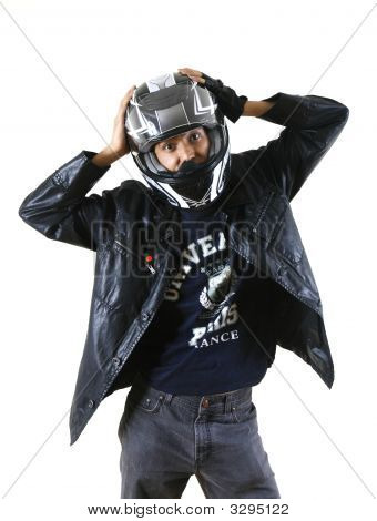 Biker Men Model