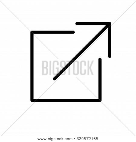 External Link Icon W Box And Arrow Images