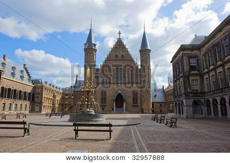 Ridderzaal, the Hague, Netherlands