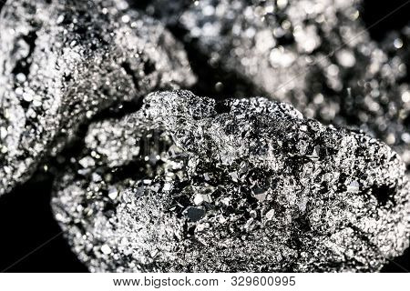 Iron Pyrite Or Iron Expert Is An Ore With Mystical Properties. Prosperity Stone, Concept Of Issuing