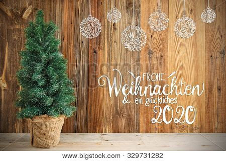 Christmas Tree, Ornament, Frohe Weihnachten Means Merry Chirstmas