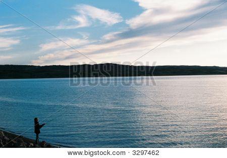 Fishing By The Missouri
