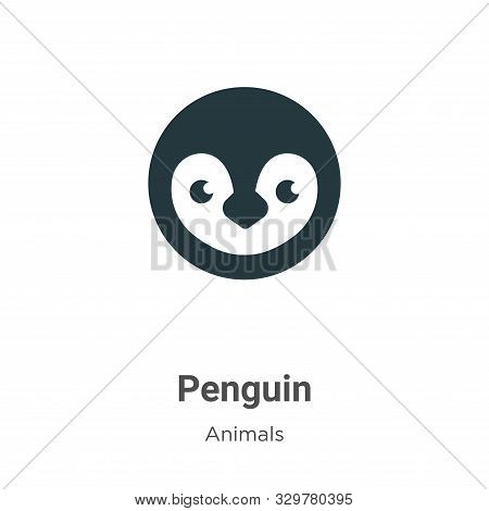 Penguin icon isolated on white background from animals collection. Penguin icon trendy and modern Pe