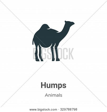 Humps icon isolated on white background from animals collection. Humps icon trendy and modern Humps