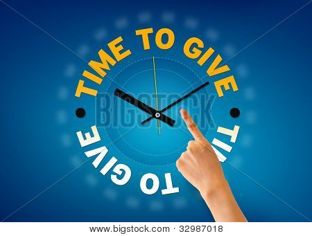 Time To Give