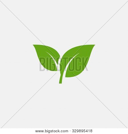 Green Leaf Ecology Nature Element Vector Icon, Leaf Icon, Green Leaf Ecology Nature Element Vector
