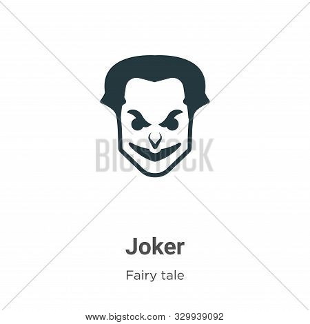 Joker icon isolated on white background from fairy tale collection. Joker icon trendy and modern Jok