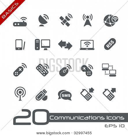 Wireless Communications Icons // Basics