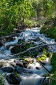 Beautiful and mesmerizing Cameron Falls, Northwest Territories poster