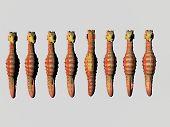 seahorse row, one backward poster