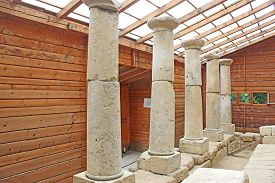 Remains Of A Thracian Temple In Starosel, Bulgaria