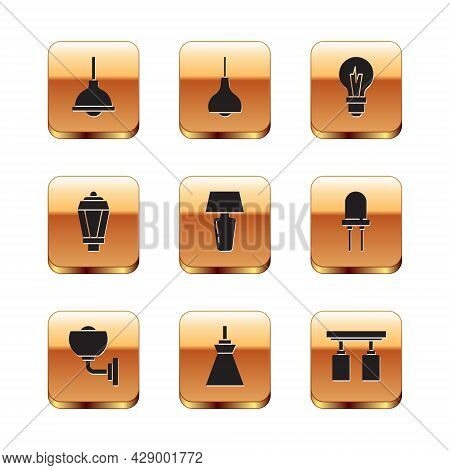 Set Lamp Hanging, Wall Lamp Or Sconce, Table, Garden Light, Light Bulb, Led Track Lights And Lamps A