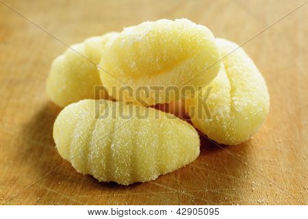 Homemade Raw Gnocchi, Italian Fresh Pasta