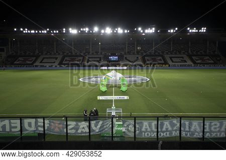 Rio, Brazil - August 04, 2021: Arena View In Match Between Vasco Vs Sao Paulo By Brazilian Cup In Sa