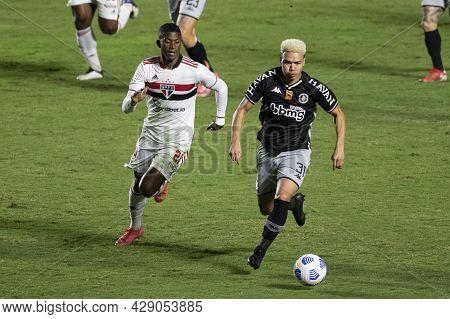 Rio, Brazil - August 04, 2021: Marquinhos Gabriel Player In Match Between Vasco Vs Sao Paulo By Braz