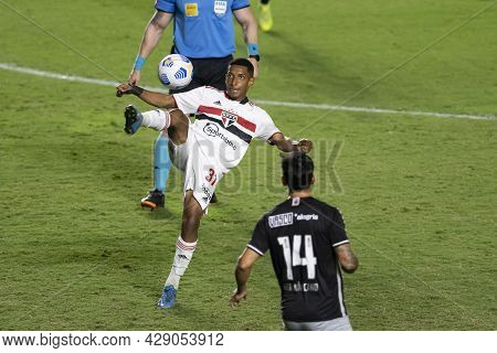Rio, Brazil - August 04, 2021: Talles Player In Match Between Vasco Vs Sao Paulo By Brazilian Cup In