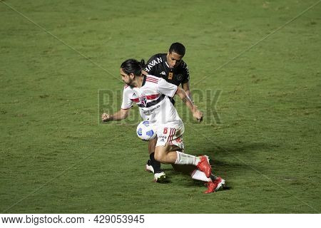 Rio, Brazil - August 04, 2021: Benitez Player In Match Between Vasco Vs Sao Paulo By Brazilian Cup I
