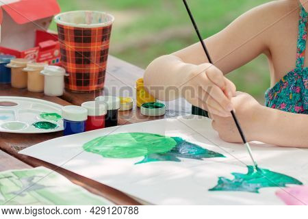 Lesson Private Of Aquarel Drawing For Children