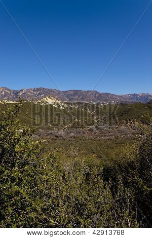 Looking Out The Ojai Valley