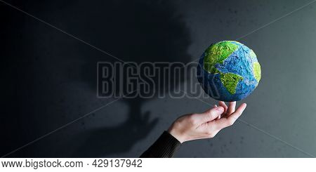 World Earth Day, Esg Concept. Green Energy, Renewable And Sustainable Resources. Environmental And E