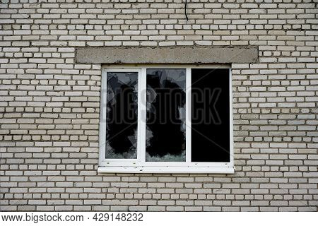 Burglary Of A House Or Apartment, Broken Glass Of A Window, Theft And Robbery.