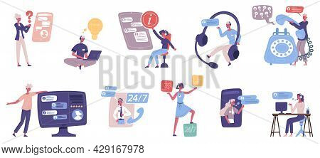 Online Customer Technical Support Personal Assistant Service. Call Center Advice Services, Online Ho
