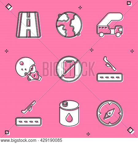 Set Airport Runway, Worldwide, Passenger Ladder, Modern Pilot Helmet, No Cell Phone, Plane Landing,