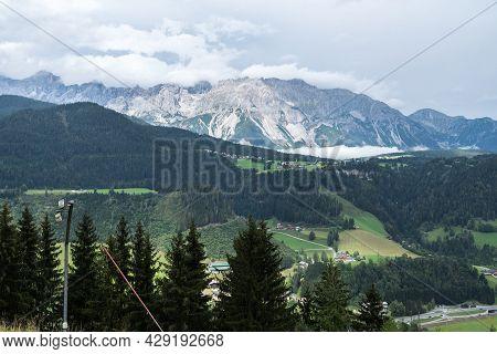 Mountains And Mountains For Hiking And Mountaineering - Planai, Austria