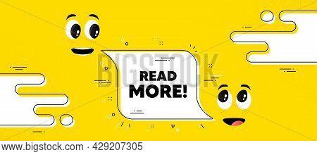 Read More Text. Cartoon Face Chat Bubble Background. Navigation Sign. Get Description Info Symbol. R