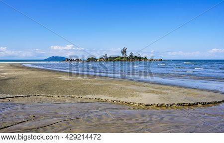 Beautiful Beach Near Cairns On Yarrabah Side Of Coastline