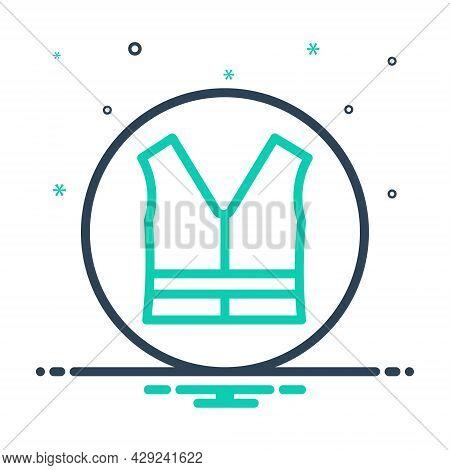 Mix Icon For Vast Jacket Garment Fashion Wear Safety Clothing Rescue