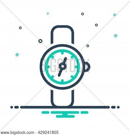 Mix Icon For Watch Clock Timer Timepiece Wristwatch Horologe Stopwatch  Analog Watch