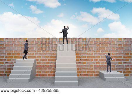 Concept of unfair career progression