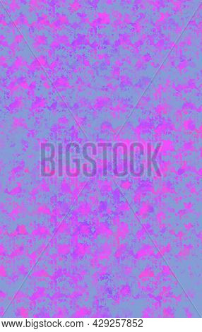 Beautiful Bright Pink Texture, Great Design For Any Purposes. Bright Pink Grunge Background. Decorat